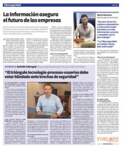 entrevista a forlopd en el diario la razon