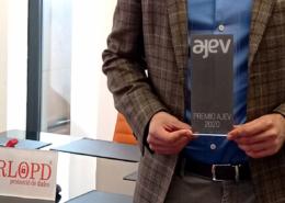 Forlopd recibe el premio Joven Empresario del Año 2020 por AJEV