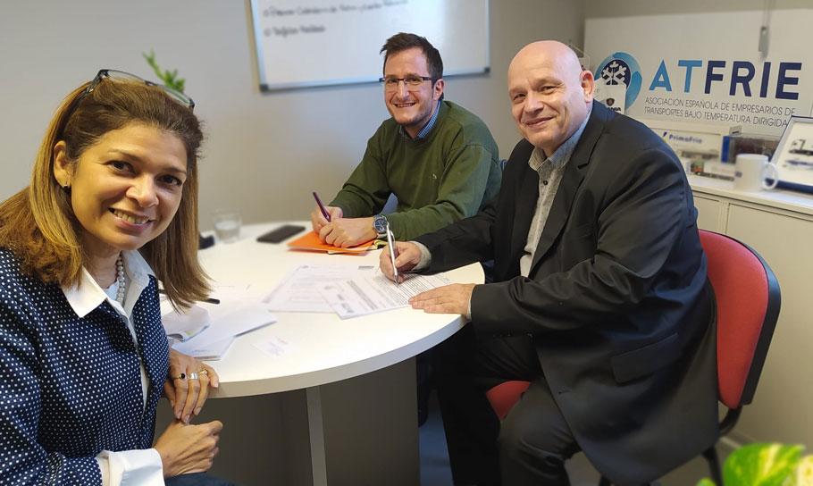 Acuerdo de colaboración entre Forlopd, Ando 2017 y Atfrie