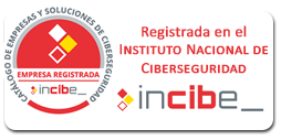 Empresa certificada por INCIBE
