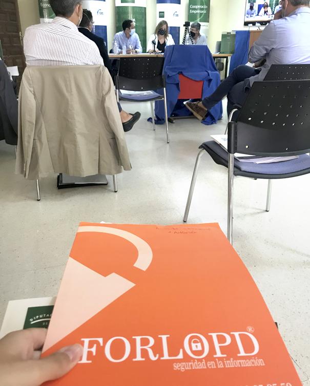 FORLOPD en el encuentro empresarial de Sevilla