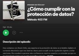 podcast cómo cumplir con la protección de datos